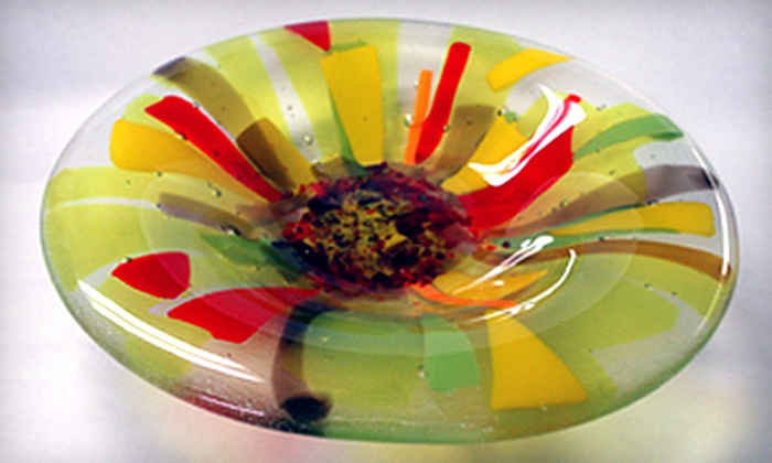 GlasTile - Piedmont Heights,Downtown: $45 for a Two-Hour Glass-Fusing Class at GlasTile in Greensboro ($95 Value)