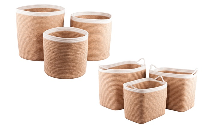 3er-Set Korb für Badezimmer | Groupon Goods