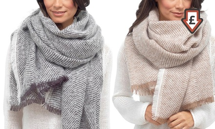 Oversize Scarf in Choice of Colour