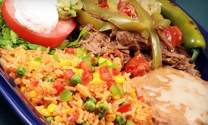 Cantinflas Restaurant & Bar - Downtown: Mexican Cuisine at Cantinflas Restaurant & Bar (Up toHalf Off). Two Options Available.
