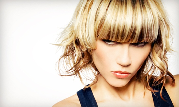 Tye Featherstone at Salon Del Monaco - Salon Delmonaco: Haircut and Highlight Packages with Tye Featherstone at Salon Del Monaco (Up to 66% Off). Three Options Available.