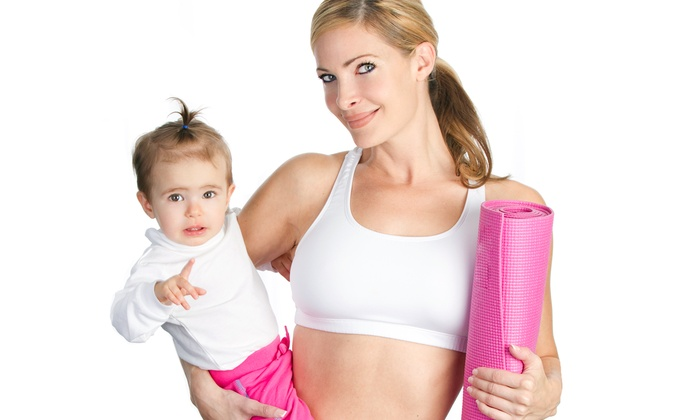 Mommy & Me Boot Camp - Huntsville: $23 for $45 Groupon — Mommy & Me Fitness