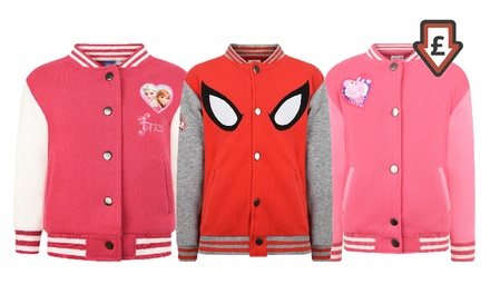 Children's CharacterThemed Baseball Jackets
