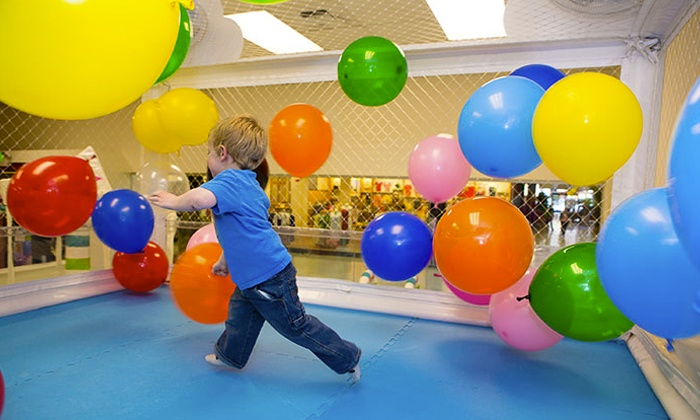 WiggleWorks - Crossroads: Five All-Day Indoor Playground Visits or One Weekday Birthday Party for Up to 15 Children at WiggleWorks (Half Off)