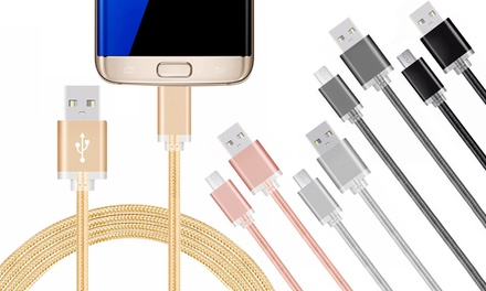 FX Braided USB Cables for Micro USB
