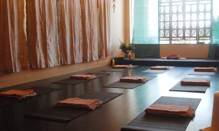 10 Yoga Classes at Ma Yoga and Meditation ($144 Value)
