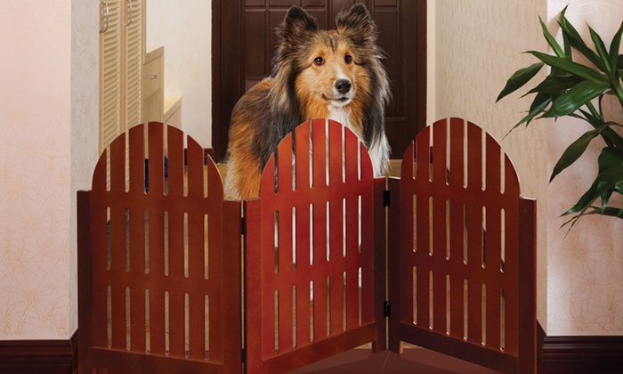 Adirondack 3-Panel Pet Gate: Adirondack 3-Panel Pet Gate. Free Returns.