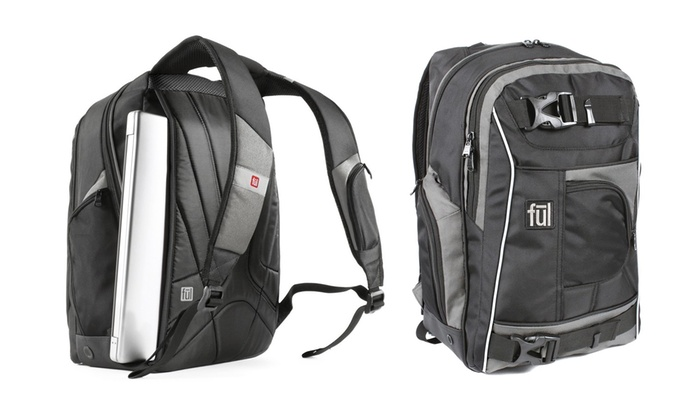 fūl Apex 18″ Backpack with Side-Entry Laptop Compartment