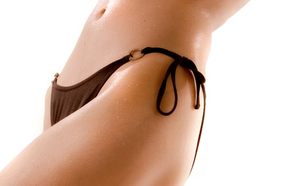 One or Three Brazilian Waxes at The Beauty Bar Salon & Spa (Up to 53% Off)