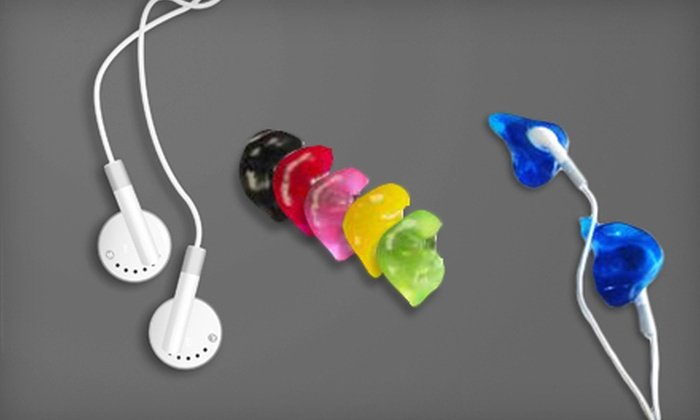 OTOhealth Hearing Care - Multiple Locations: $129 for Custom-Molded iPod Ear Buds at OTOhealth Hearing Care ($400 Value)