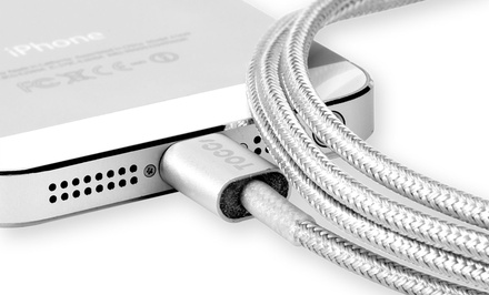 TOCCs Apple-Certified 5-foot Bungee Charge and Sync Cable