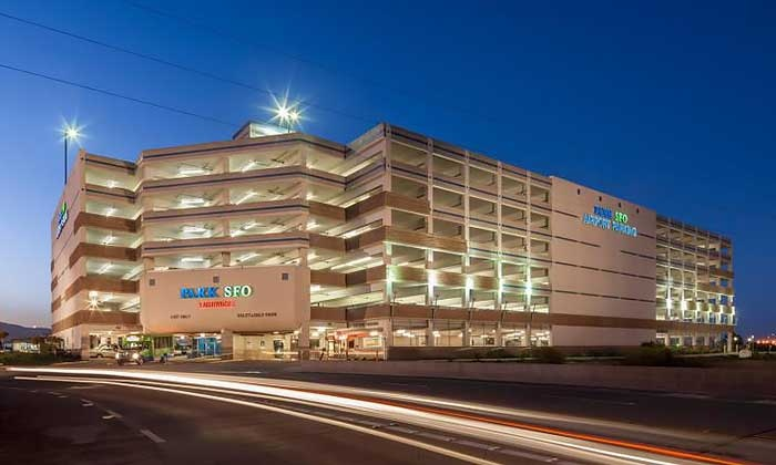 Park SFO - San Francisco International Airport: Three or Five Days of Indoor Airport Self-Parking at Park SFO (Up to 44% Off)