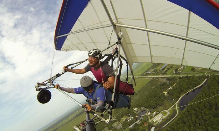The Florida Ridge Sports Air Park - The Florida Ridge Sports Air Park: $69 for a Tandem Hang-Gliding Flight Package at The Florida Ridge Air Sports Park ($184 Value)