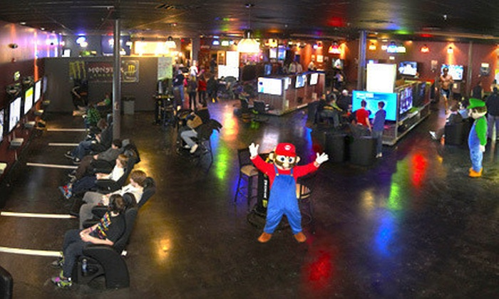 Game Pazzo - Downers Grove: Video-Gaming Packages with Pizza and Wings for Two, Four, or Six at Game Pazzo (51% Off)