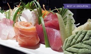 53% Off at Sakesan Sushi & Bistro at Sakesan Sushi & Bistro, plus 9.0% Cash Back from Ebates.