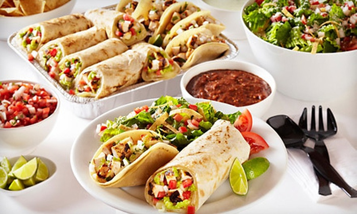 Baja Fresh - Pleasanton: Mexican Meal for Two or Four at Baja Fresh (Up to 52% Off)