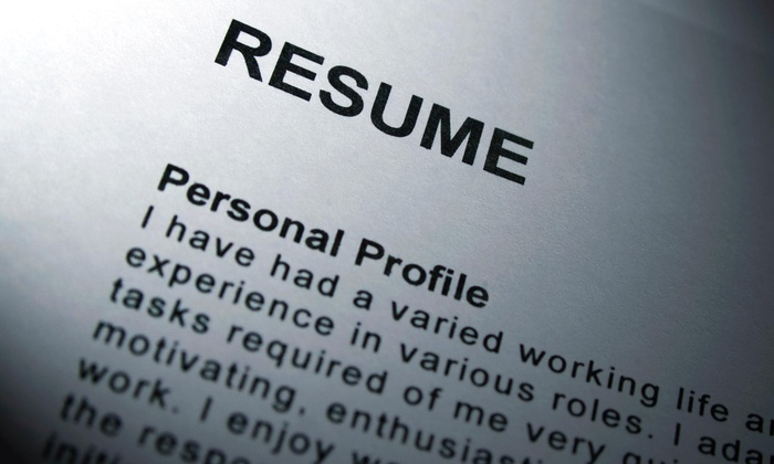 Professional resume writing services groupon