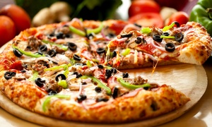 Road House Pizza: $8 for Two Groupons, Each Valid for $10 Worth of Pizza, Salads, Sides, and Drinks at Road House Pizza ($20 Value)