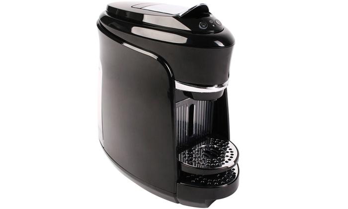 macchina caff compatibile nespresso groupon goods. Black Bedroom Furniture Sets. Home Design Ideas