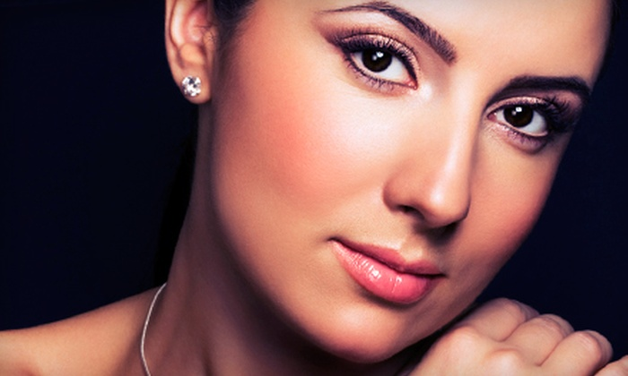 Rejuvenations Skin Spa - Inside Pavilions Shopping Center: Permanent Top and Bottom Eyeliner, Brow, or Both at Rejuvenations Skin Spa (Up to 70% Off)