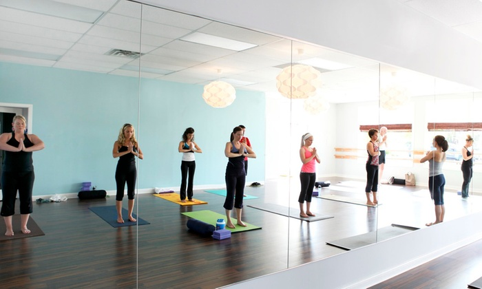 Pure Yoga - Stillwater: 10 Yoga Classes or One Month of Unlimited Yoga at Pure Yoga (Up to 73% Off)