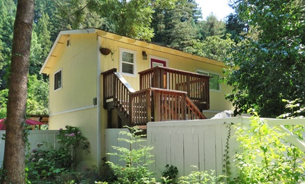 2-Night Stay for Two at Monte Rio Vacation Cottages in California's Russian River Valley