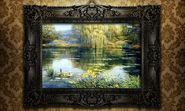 Double Wings Art - Markham: Oil Paintings or Framing Services, or Photo-Printing Services at Double Wings Art (Up to 67% Off)