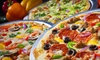 Top That Pizza - Denton: $7 for $14 Worth of Pizza at Top That! Pizza