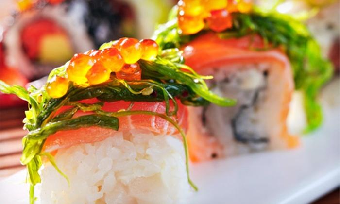 Yuki Sushi & Robata - Lone Tree: Sushi and Japanese Cuisine at Yuki Sushi & Robata (Half Off). Two Options Available.