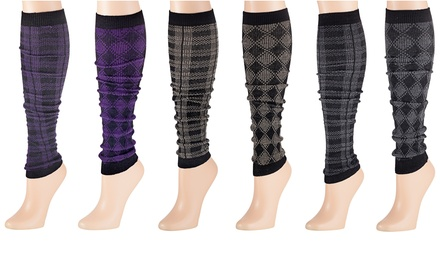 2-, 3-, or 6-Pack of Leg Warmers from $14.99–$19.99
