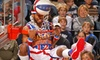 Harlem Globetrotters **NAT** - FirstOntario Centre: Harlem Globetrotters Game at Copps Coliseum on April 10 at 7 p.m. (Up to 45% Off). Two Options Available.