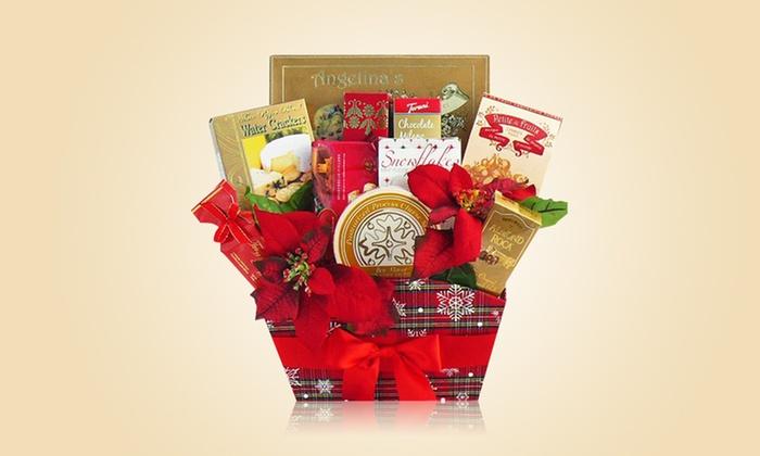 Season's Greetings Holiday Gift Basket: Season's Greetings Holiday Gift Basket