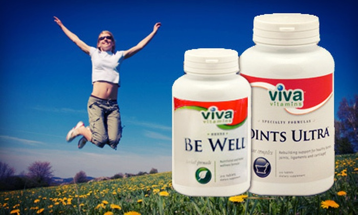 Viva Vitamins at Earth Wise Nutrition Centers - North State: Vitamins and Supplements at Viva Vitamins at Earth Wise Nutrition Centers (Up to 55% Off). Two Options Available.
