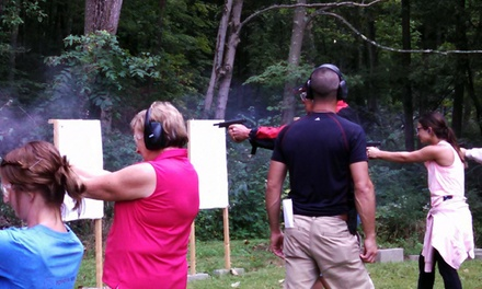 Concealed-Carry Course or Range Visit at Tactical Intelligence Group (Up to 54% Off). Four Options Available.