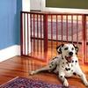 Pet Store Folding Wooden Gate