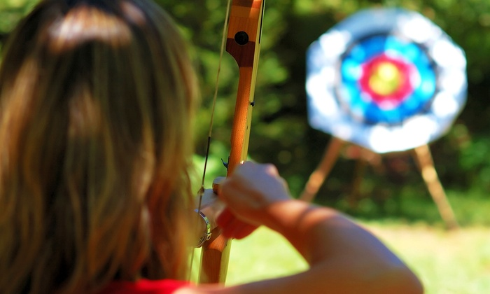Roadrunner Archery Club - Otay Ranch: Archery Lesson for Two with Gear, or Two Months of Range Access with Gear at Roadrunner Archery Club (Up to 54% Off)