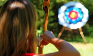 Roadrunner Archery Club: Archery Lesson for Two with Gear, or Two Months of Range Access with Gear at Roadrunner Archery Club (Up to 54% Off)