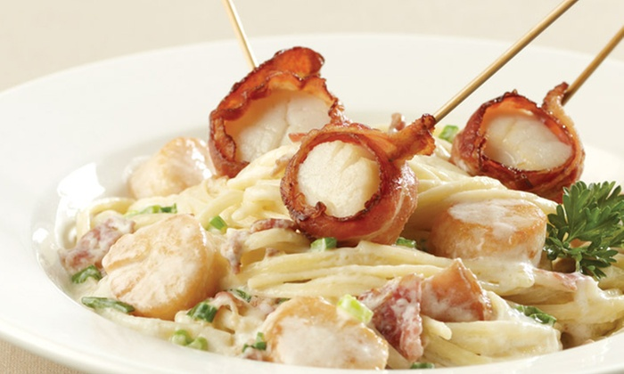 East Side Mario's - Mississauga: C$12 for C$25 Worth of Family-Style Italian Cuisine at East Side Mario's
