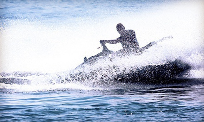 Dunedin WaterSports - Pirate's Cove Marina & Yacht Club: 30-Minute or One-Hour Waverunner Rental at Dunedin WaterSports (Up to 51% Off)