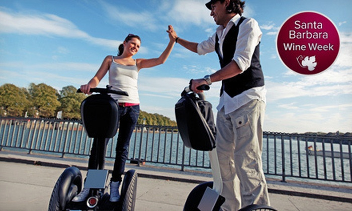 Segway Tours of Solvang - Downtown Solvang: City, Country, or Mountain Segway Tour for Two or Four with Wine Tasting from Segway Tours of Solvang (Up to 59% Off)