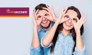 Twoje Soczewki: Badanie wzroku z doborem soczewek kontaktowych za 39,99 zł w salonach Twoje Soczewki –20 lokalizacji (zamiast 89 zł)