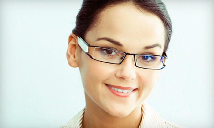 Eyesite Optometry - Multiple Locations: $49 for Eye Exam and $150 Toward Lenses and Frames at Eyesite Optometry ($279 Value)