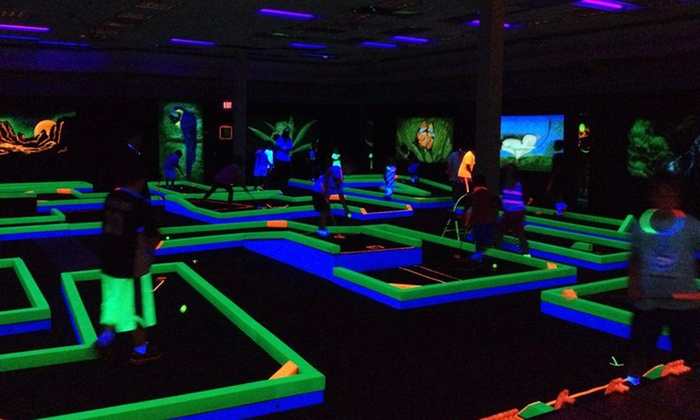 Lunar Mini Golf - Hickory: Mini Golf for Two or Four at Lunar Mini Golf (Up to 53% Off)