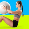 Weighted Resistance Ball with Exercise Bundle