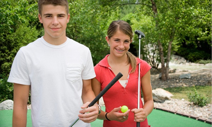 Westerville Mini Golf - Westerville Golf Center: Two Rounds of Mini Golf or Mini Golf and Batting-Cage Package at Westerville Mini Golf During October (Up to 59% Off)