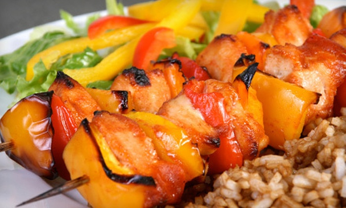 Mediterranean Buffet - Central Phoenix: Buffet Meal for Two, Four, Six, or Eight at Mediterranean Buffet (Up to 55% Off)