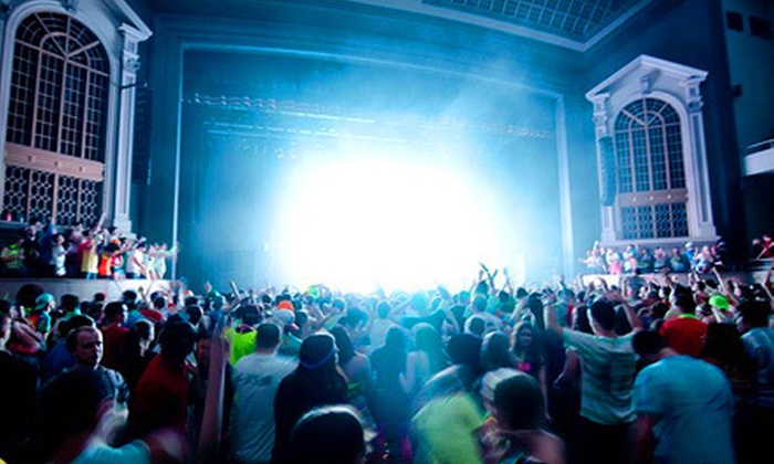 GLOWfest - University: GLOWfest House-Music Festival with Optional Merchandise Voucher at Denver University on May 27 (Up to 51% Off)