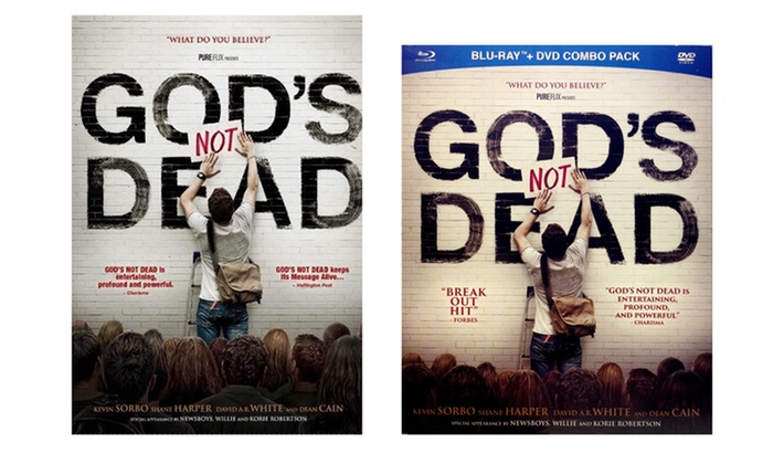 God's Not Dead on DVD and Blu-ray: God's Not Dead on DVD and Blu-ray from $17.99–$19.99