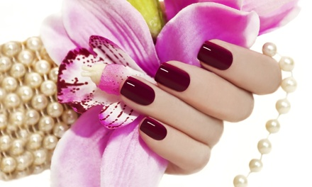 Mani-Pedis, Waxing, or Lash Extensions at Angel Tips – New Rochelle (Up to 51% Off). Five Options Available.