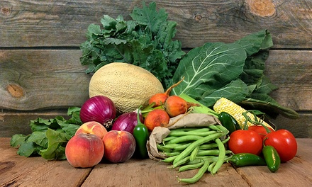 One or Two Local Seasonal Food Bundles from Mile High Organics (43% Off)